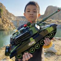 超大遥控坦克可发射亲子对战履带式模型充电动男孩越野车儿童玩具