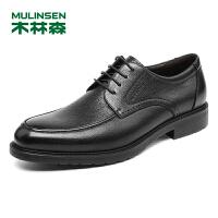 木林森男鞋2018秋季新款商务正装皮鞋 8705326