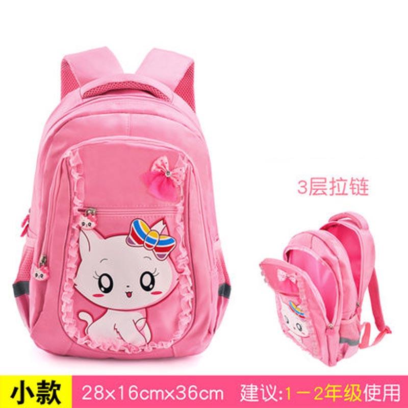 小学生书包4-6年级公主轻便女生双肩包韩版书包