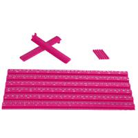 测身高神器超声波身高体重秤测量仪量身高的尺子测量工具2米 玫红色(180厘米) 配身高记录卡