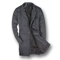 新年优惠【NEW】反季西服款羽绒服中长款轻薄冬装修身防寒服青年西装领