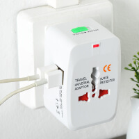 泰国日本台湾旅游多国旅行转换插头转换器插座双usb充电