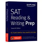 卡普兰新SAT备考 阅读和写作 英文原版书 Kaplan SAT Reading & Writing Prep 高分策