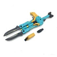 玩具枪可变形发射 儿童手动流星剑男孩