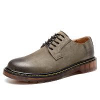 特大码潮鞋45复古英伦男鞋子低帮加大号46马丁鞋47男士休闲小皮鞋