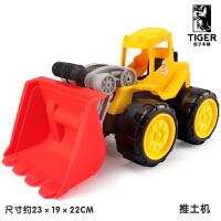 儿童挖掘机玩具车工程车大号惯性翻斗车推土机挖土机玩具男孩2岁