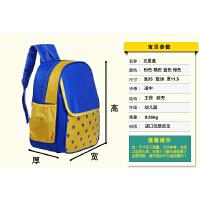 韩版幼儿园书包印字定做订制广告3-6岁小学生男女儿童双肩包