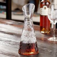 爱屋格林创意 水晶玻璃快速醒酒器倒酒器红酒器酒壶调酒器800ML