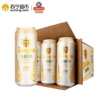 青岛啤酒小麦白啤(11度)500ml*12罐
