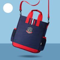 儿童可爱补课包斜挎包美术袋手提书包小学生补习袋学习袋便携