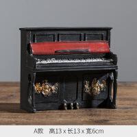 美式复古摆件乐器模型创意家居工艺装饰品客厅电视机卧室内小摆设