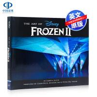 现货 冰雪奇缘2英文版艺术设定 The Art of Frozen 2 英文原版电影艺术画册设定集 进口图书 精装 迪