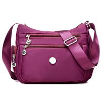 尼龙牛津布包新款单肩斜挎包女士包包休闲旅行斜跨包女轻便妈妈包