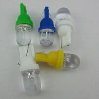 T10 彩色LED灯泡 示宽灯 牌照灯 装饰灯七彩变换七彩灯 后备箱灯