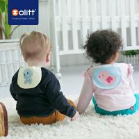 Zolitt 卓理 婴儿纯棉纱布吸汗巾宝宝垫背巾幼儿园隔汗巾全棉加大6条装