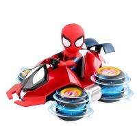 抖音同款社会人漫威正版蜘蛛侠玩具儿童车特技滑板车男孩减压玩具