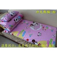 婴儿床床垫/幼儿园儿童床垫子/床褥子/垫被/可拆洗床护垫 粉红色 功夫熊猫-粉