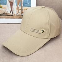 新款韩版运动户外旅游遮阳夏季遮阳男女士 棒球帽 JX167 米色 可调节