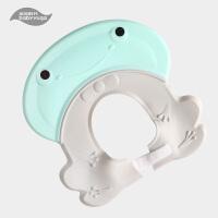 宝宝洗头神器婴儿童防水护耳男女小孩洗澡洗发浴帽可调节0-3-10岁 可调节