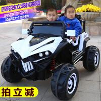 婴儿童四轮电动汽车越野车双人带遥控1-3-5岁男女孩大号可坐童车