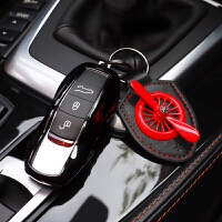 专用于保时捷车用钥匙壳改装扣macan卡宴panamera汽车钥匙包套911