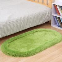 简约厚款椭圆形地毯卧室床边毯客厅茶几地毯