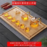家用简约竹茶盘竹制长方形干泡盘日式排水功夫茶具套装茶台茶托盘