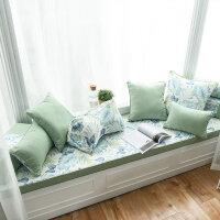 飘窗垫窗台垫简约现代阳台垫子定做卧室榻榻米垫北欧可机洗坐垫子 定制尺寸联系客服计算价格