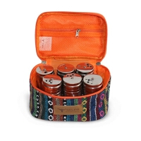 户外调味瓶套装 烧烤用品套餐包便携式不锈钢调料盒 野餐分装调味罐