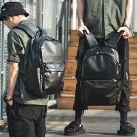 双肩包男士时尚潮流学生书包韩版男包大容量旅行背包青年休闲电脑