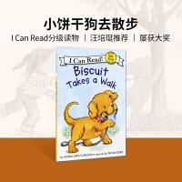 #小豆豆英文童书 Biscuit Takes a Walk 小饼干去散步 英文原版绘本 I Can Read系列My F
