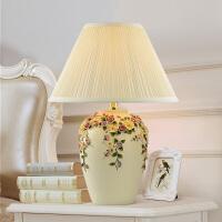 欧式创意桌面摆件家居装饰 卧室床头台灯摆饰灯 婚庆礼品礼物花灯