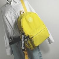 韩版新款女包牛津布双肩包女学院风大容量背包学生书包旅行包