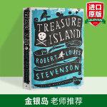 金银岛 英文原版 Treasure Island 英文版海盗小说 儿童经典文学小说 英语课外阅读 暑假书单 罗伯特路易