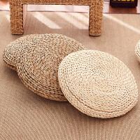 传统蒲团坐垫草编榻榻米飘窗瑜伽玉米皮瑜伽加厚圆形地板日式草垫子图片仅供参考