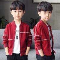 男童春装外套2019新款休闲儿童中大童夹克衫棒球服拉链衫运动韩版