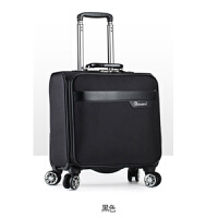 18寸拉杆箱女空姐登机箱 万向轮横款小行李箱 牛津布轻便旅行箱男