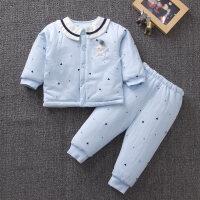 婴儿棉衣新生儿春秋冬装套装男女宝宝衣服棉袄外套外出服薄