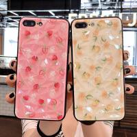 草莓苹果8plus手机壳女款iPhoneX硅胶软壳苹果7plus硬壳iPhoneXMAX防摔壳xr保 iphoneXS