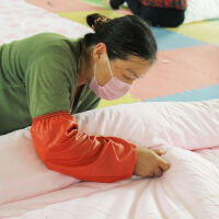 新疆纯棉花被子春秋全棉单双人棉絮床垫被芯手工棉被加厚褥子
