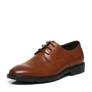 Belle/百丽春专柜同款牛皮商务风正装男皮鞋4TR01AM7