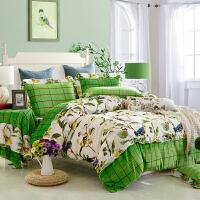 春秋床上用品四件套绒珊瑚绒棉结婚加厚保暖2.0m床双人 乳白色 喜上眉梢