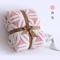 双层保暖加厚羊羔绒毛毯秋冬法莱绒单双人沙发毯珊瑚绒学生盖毯子