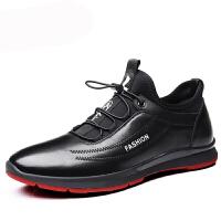 内增高男鞋6cm秋季透气运动鞋男士休闲皮鞋男韩版潮流增高鞋男8cm