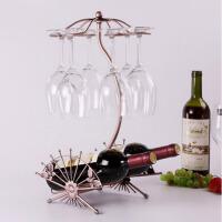 欧式创意红酒架葡萄酒架 红酒杯架高脚杯吊杯架子酒具摆件