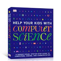 【全店300减100】进口英文原版正版DK 帮你的孩子学计算机科学 Help Your Kids with Comput