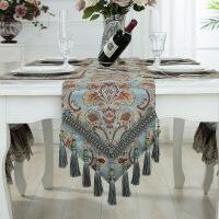 欧式餐桌旗美式茶几旗现代简约电视柜旗简欧桌旗布套装垫