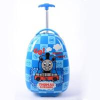 幼儿园男女童书包小拉杆箱儿童卡通可爱蛋壳行李箱16寸迷你旅行箱 16寸