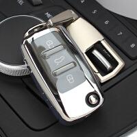 183大众钥匙套速腾朗逸钥匙包途观帕萨特甲壳虫POLO车钥匙壳/扣