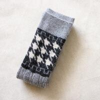 秋冬季日系仿羊绒袜套女长筒袜过膝袜高筒袜袜套护膝保暖兔羊毛袜子 均码